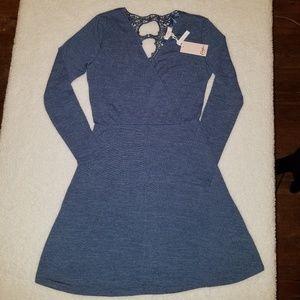 Candie's NWT Faux Wrap Knit Dress
